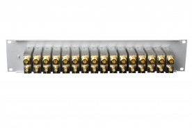 L-band 20 dB Coupler Panel, 16 modules