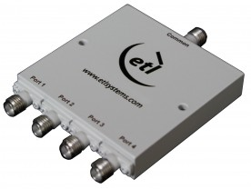 Wideband 0.5-18 GHz Splitter/Combiner - 4-Way Model: COM04KXP-2733