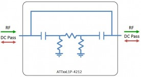 L-band attenuator model: ATT03L1P-4212