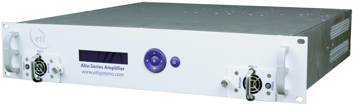 Redundant Amplifier ALT-C401-2U-x5x5