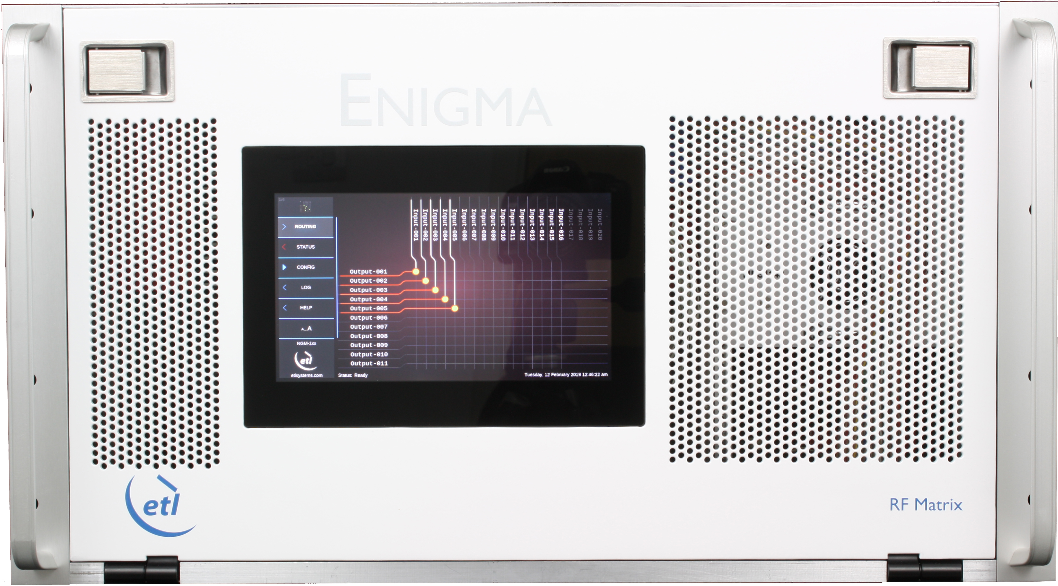 Enigma-102 Combining Switch Matrix with enhanced RF performance