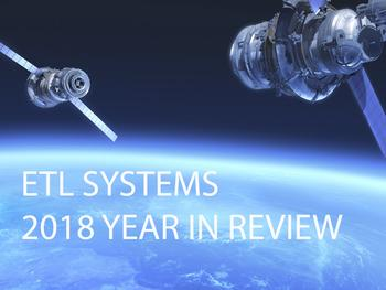 ETL systems 2018 year in review