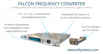 Frequency Up & Downconverters from ETL Systems