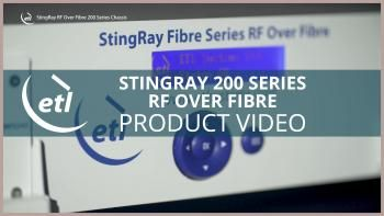 What are the benefits of using RF Over Fibre?