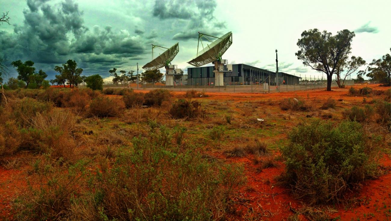 Sat ground station Bourke