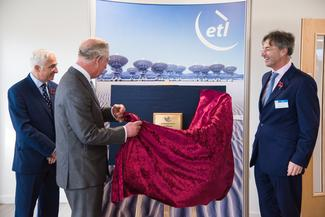 HRH Prince Charles Visits ETL Systems LTD Hereford