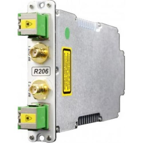 Dual L-band Receive Fibre Optic Link / IFL - Model SRY-RX-L1-206