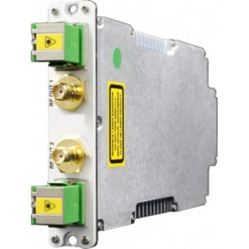 Dual Broadband Transmit Fibre Optic Link / IFL - Model SRY-TX-B2-207