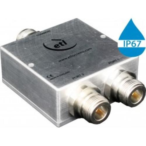 GPS/GNSS L-Band Passive *IP 67 Rated* 2-Way Model: COM02L1P-2727