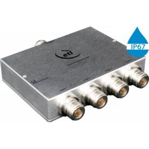 GPS/GNSS L-Band Passive *IP 67 Rated* 4-Way Model: COM04L1P-2728