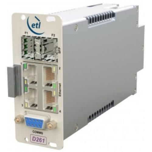 Optical Serial & Ethernet Fibre Optic Link / IFL - Model SRY-DA-261