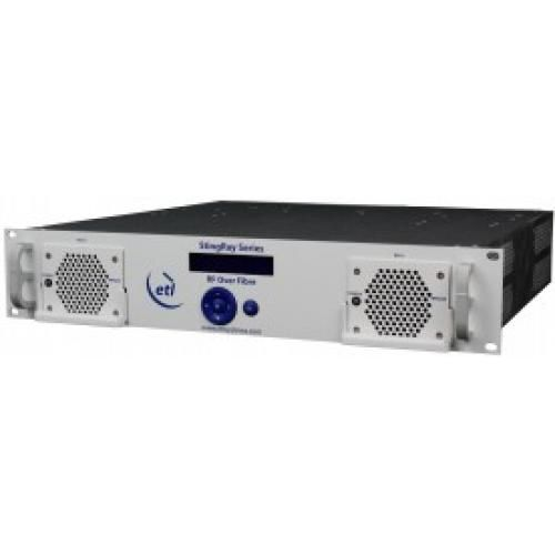 StingRay RF over Fibre Chassis, 16 module, 200 series, 10MHz inject  - Model SRY-C205-2U