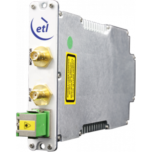 ETL's 200 series High Gain StingRay RF Over Fibre Module