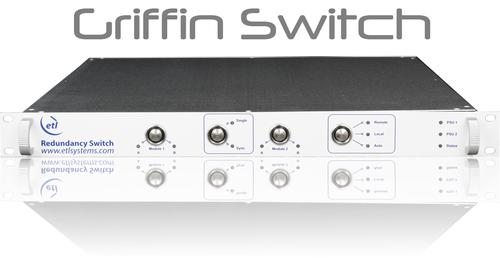 Redundancy Switch with L-band switch, RF switch and ASI switch options - GRIFFIN