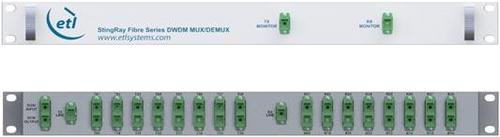 StingRay DWDM Dual 8 Way Optical Multiplexer/Demultiplexer