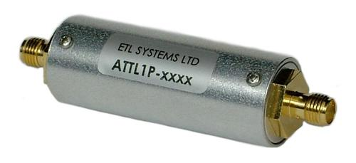 ETL RF Components Extended L-band 950-2400 MHz Attenuator